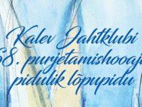 Kalev Jahtklubi 68. purjetamishooaja pidulik lõpupidu