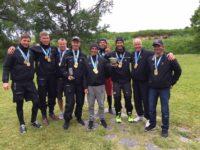 Katariina II meeskond - Janno Hool, Henri Lepik, August Luure, Peter Šaraškin, Karl-Hannes Tagu, Olaf Sumberg, Kevin Grass, Lorenzo Bodini ja Aivar Tuulberg.