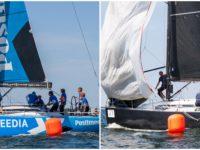Avamerepurjetamise Soome ja Eesti Meistrivõistlustel võidukad Eesti Meedia Sailing Team ja Katariina II