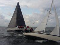 MARINEPOOL – Kalevi Jahtklubi kolmapäevaregatt purjetati tugevas tuules