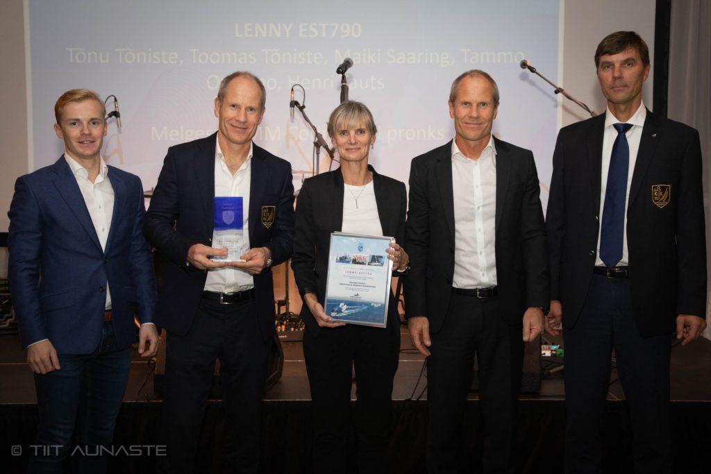 Lenny EST790 - Melges 24 parim meeskond 2019