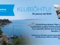 KLUBIÕHTU 30.01: Merematkamisest Läänemerel – Viljar ja Britt Tulit