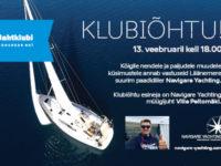 KLUBIÕHTU 13.02: Jahtide soetusvõimalustest, Läänemere suurim paadidiiler Navigare