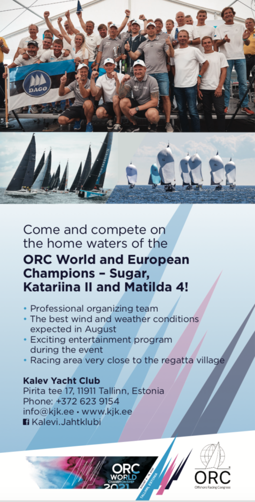 ORC Worlds 2021 - Tallinn Estonia - flyer back