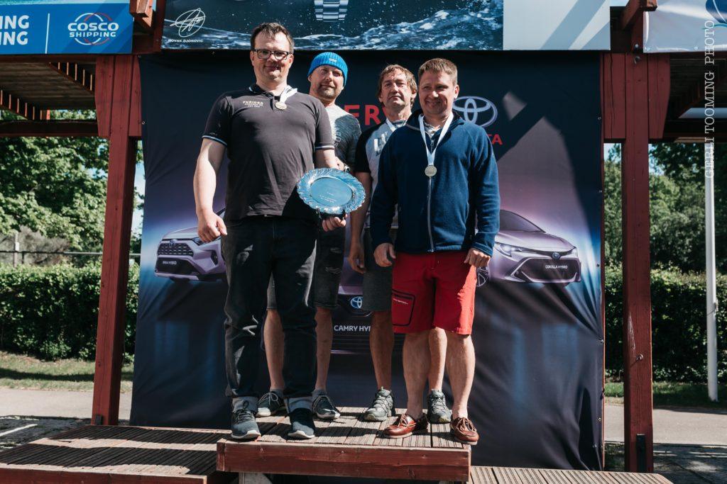 ORC III grupi võitja Vesileenu Imre Marmori juhtimisel - Kalevi Jahtklubi Avamerepurjetamise Karikasarja SEIKO CUP 2020 - E4 Karikavõistlus FOTO: Gerli Tooming