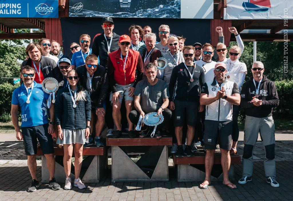 ORC I grupi poodiumimeeskonnad - Kalevi Jahtklubi Avamerepurjetamise Karikasarja SEIKO CUP 2020 - E4 Karikavõistlus FOTO: Gerli Tooming
