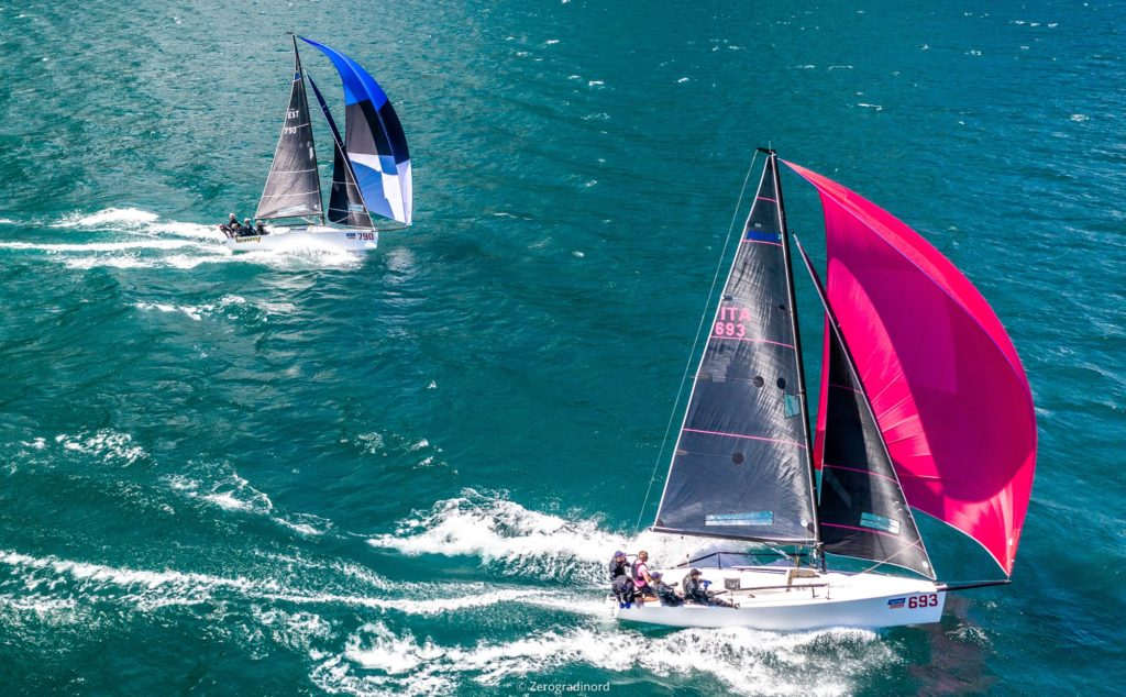 2020 Melges 24 Itaalia Meistrivõistlused - Torbole, Garda järv, Itaalia - FOTO: Zerogradinord