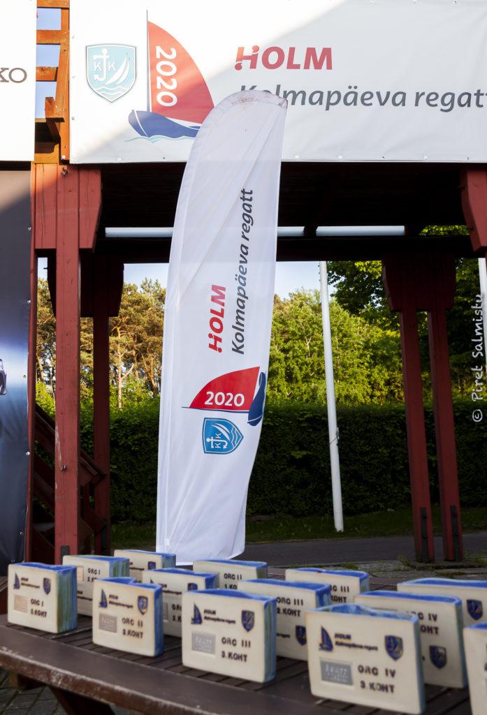 2020 HOLM - Kalevi Jahtklubi kolmapäevaregati auhinnad FOTO: Piret Salmistu