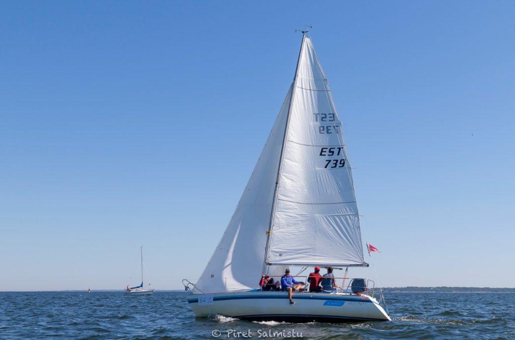 A. Le Coq 63. Muhu Väina regatt 2020 - Santa Maria Haven Kakumäe - Kalevi Jahtklubi etapi ORC III grupi võitja Celia