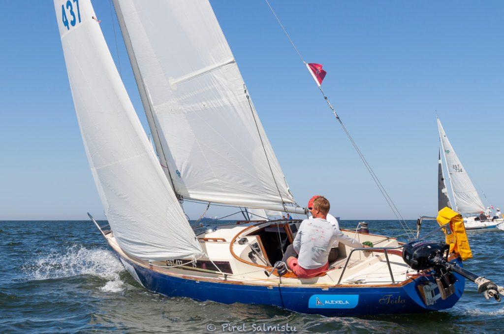 A. Le Coq 63. Muhu Väina regatt 2020 - Santa Maria Haven Kakumäe - Kalevi Jahtklubi etapi ORC IV grupi võitja Julechka