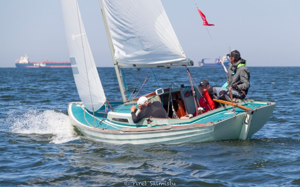 A. Le Coq 63. Muhu Väina regatt 2020 - Santa Maria Haven Kakumäe - Kalevi Jahtklubi etapi Folkboot klassi võitja Tee Chee