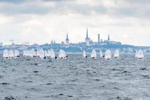44. Spinnakeri regatt - Optimist klass Tallinna lahel - foto © Aleksandr Abrosimov