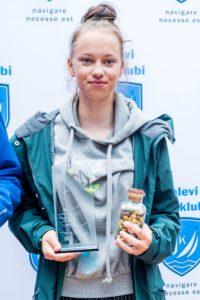 Britta Maipuu, Kalevi JAhtklubi Purjespordikool - foto © Aleksandr Abrosimov