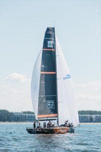 Zer0emission FIN-1 (TP52) - Esimese lühirajasõidu võitja ORC A klassis - 2020 Baltic Offshore Week FOTO: Gerli Tooming