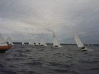 HOLM – Kalevi Jahtklubi Kolmapäevaregatt peeti puhangulise ja keerutava tuulega