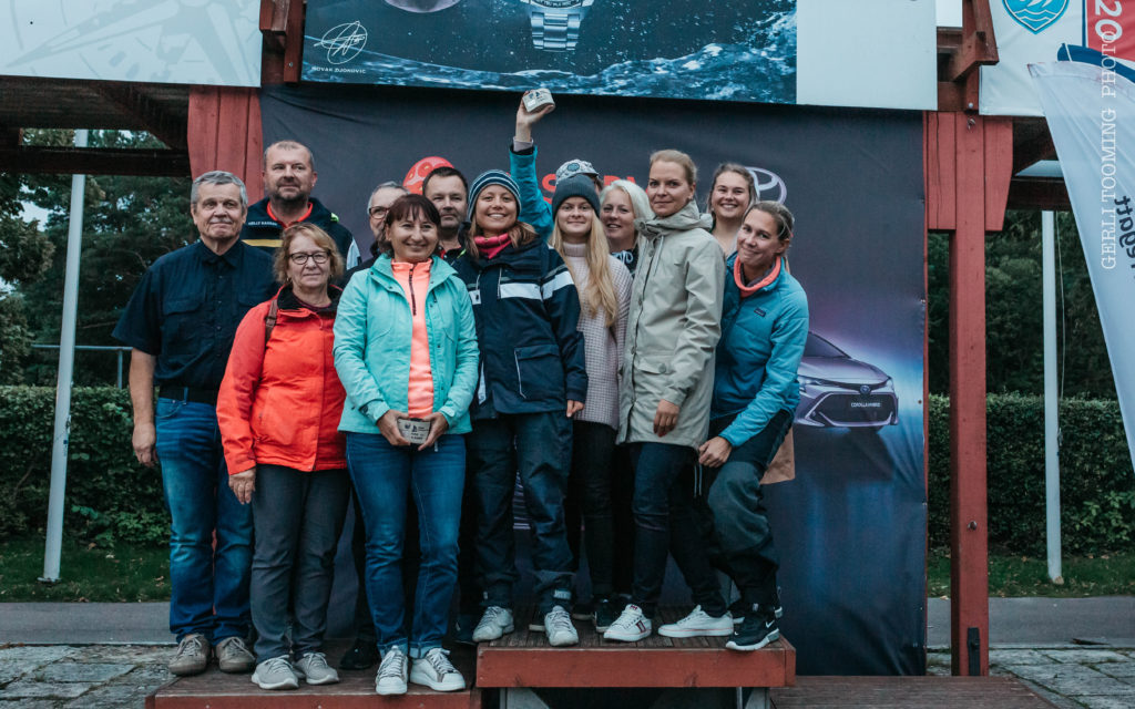 ORC III grupi poodium - HOLM - Kalevi Jahtklubi Kolmapäevaregatt 02.09.2020 - © Gerli Tooming