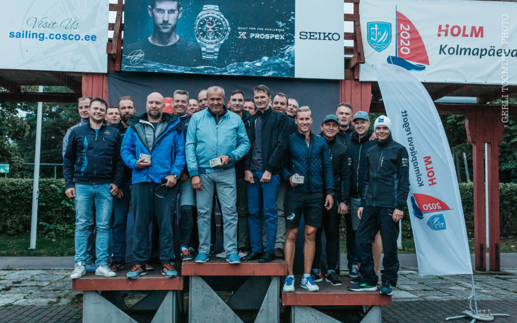 ORC II grupi poodium - HOLM - Kalevi Jahtklubi Kolmapäevaregatt 02.09.2020 - © Gerli Tooming