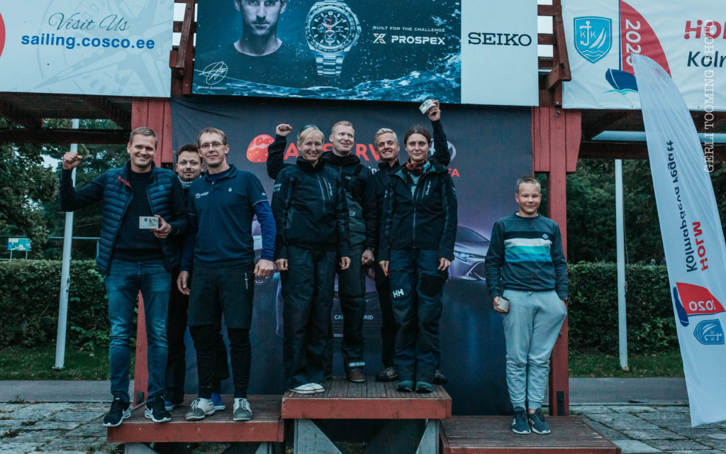 ORC I grupi poodium - HOLM - Kalevi Jahtklubi Kolmapäevaregatt 02.09.2020