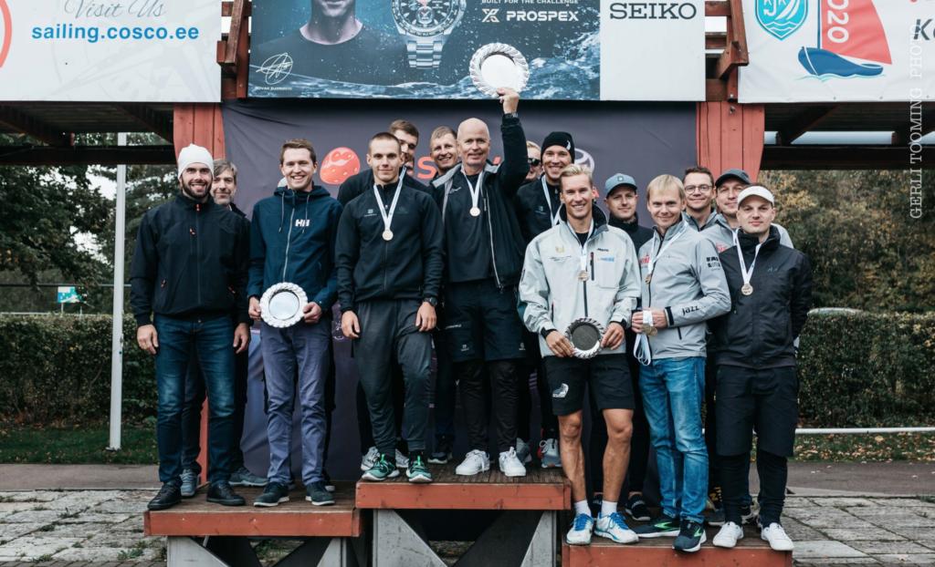 ORC II grupi esikolmik - SEIKO CUP - Hooaja Lõpuvõistlus Kalevi Jahtklubis 10.10.2020 FOTO: Gerli Tooming