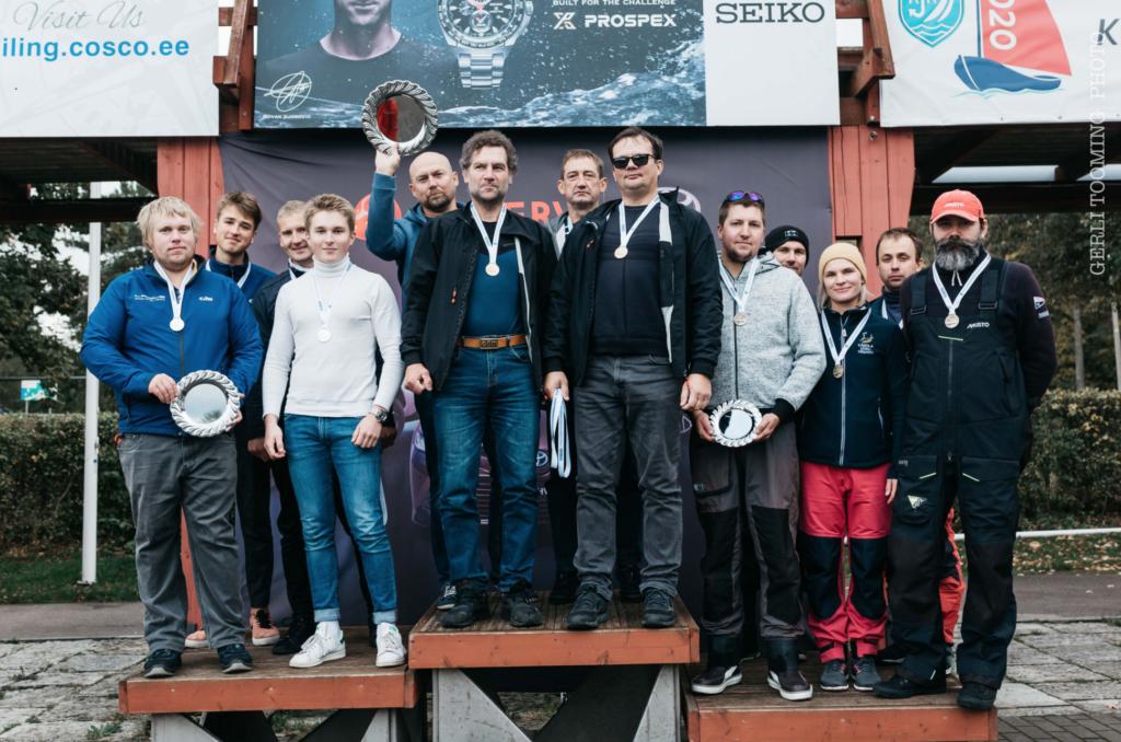 ORC III grupi esikolmik - SEIKO CUP - Hooaja Lõpuvõistlus Kalevi Jahtklubis 10.10.2020 FOTO: Gerli Tooming
