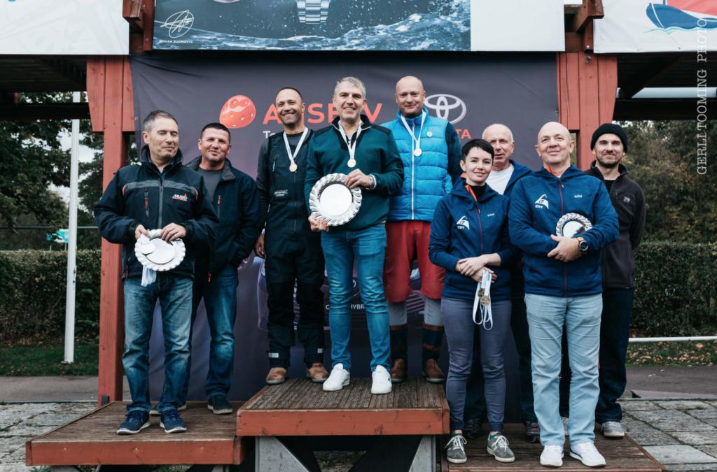 Draakon klassi esikolmik - SEIKO CUP - Hooaja Lõpuvõistlus Kalevi Jahtklubis 10.10.2020 FOTO: Gerli Tooming