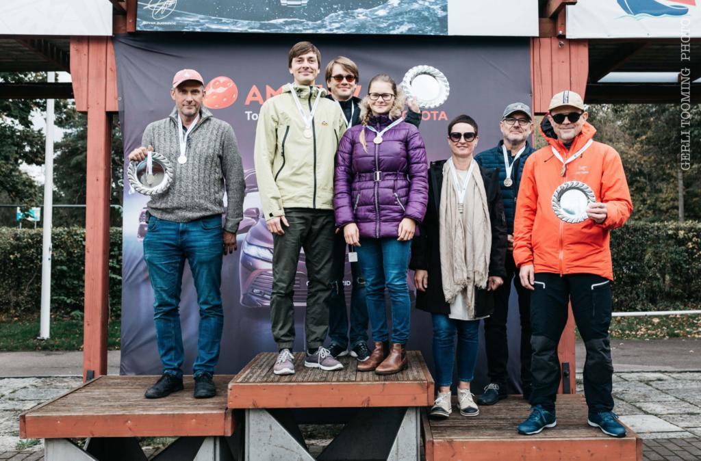 Folkboot klassi esikolmik - SEIKO CUP - Hooaja Lõpuvõistlus Kalevi Jahtklubis 10.10.2020 FOTO: Gerli Tooming