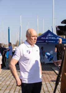 Kalevi Jahtklubi kommodoor ja Eesti Jahtklubide Liidu president Kalev Vapper