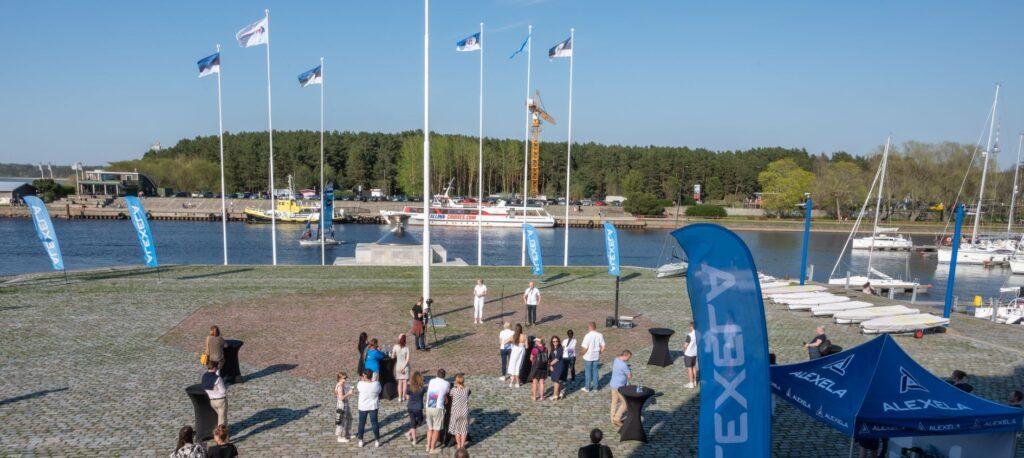Tallinnas toimuva 2021.a avamerepurjetamise MM-regati korraldajad sõlmisid nimisponsori kokkuleppe Alexelaga - foto © Urmas Lind
