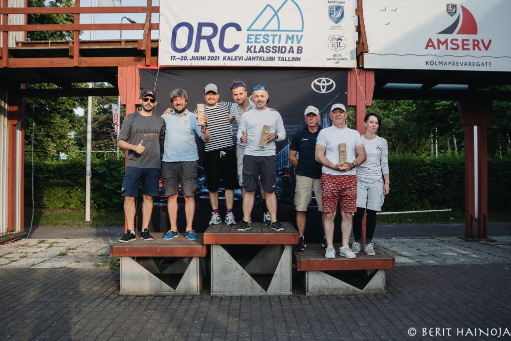 Amserv-Kalevi Jahtklubi kolmapäevaregatt 30.06.2021 FOTO: Berit Hainoja