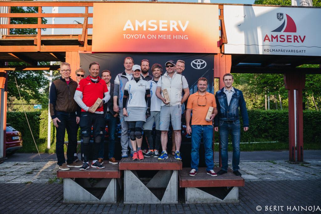 Amserv - Kalevi Jahtklubi kolmapäevaregatt 02.06.2021 - © Berit Hainoja