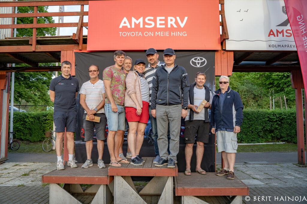 Amserv - Kalevi Jahtklubi Kolmapäevaregatt 09.06.2021 FOTO: Berit Hainoja / Kalevi Jahtklubi
