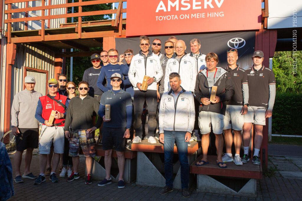 Amserv-Kalevi Jahtklubi kolmapäevaregatt 16.06.2021 FOTO: Gerli Tooming