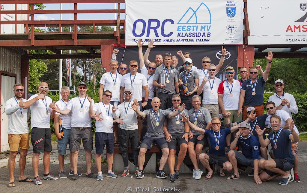 ORC Eesti Meistrivõistlused 2021 A ja B klassile 18.-20.06.2021 © Piret Salmistu