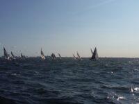 Kõrge laine ja tugeva tuulega purjetati järjekordne sõit AMSERV – Kalevi Jahtklubi Kolmapäevaregati seerias