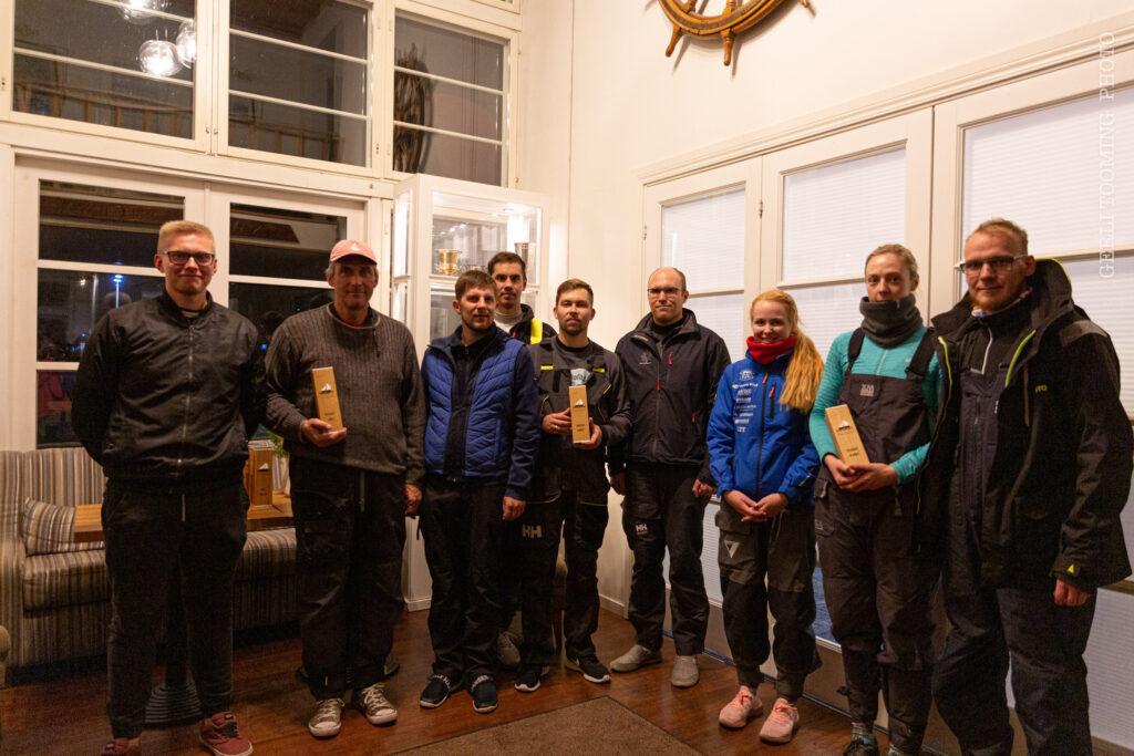 Folkboot klass - Amserv-Kalevi Jahtklubi kolmapäevaregatt 06.10.2021 - © Gerli Tooming